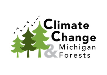 Climate Change and Michigan Forests Logo